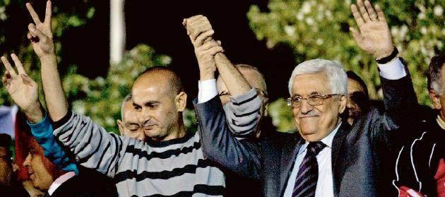 Israel slappte palestinska fangar