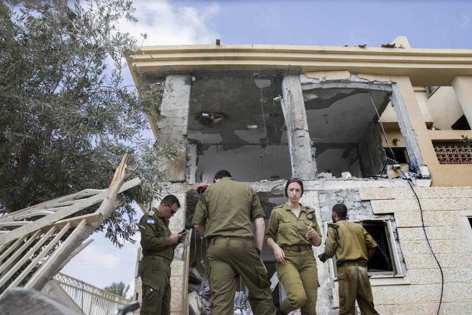 Raketer skjutna mot israel