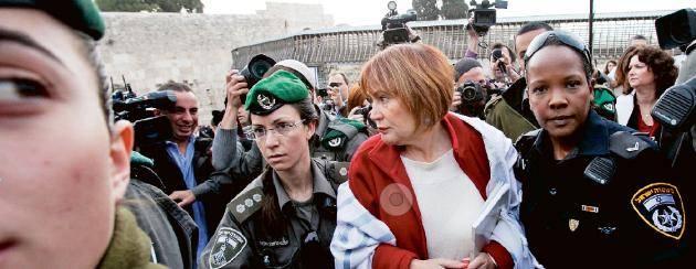 Ar det har varldens mest arresterade kvinna