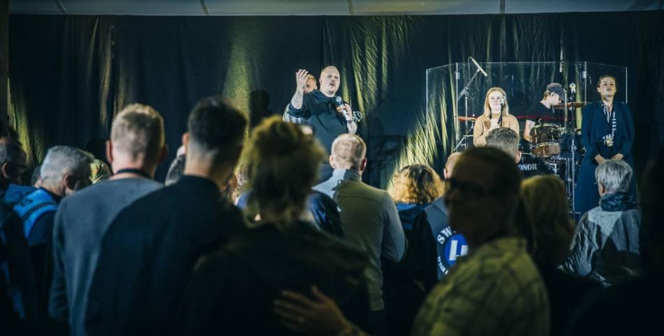 I dag inleds den stora tältkampanjen i Sävsjö